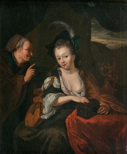 Ecole hollandaise, vers 1700, suiveur de...