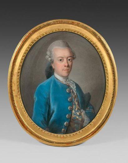 Ecole française du XVIIIe siècle  Portraits...