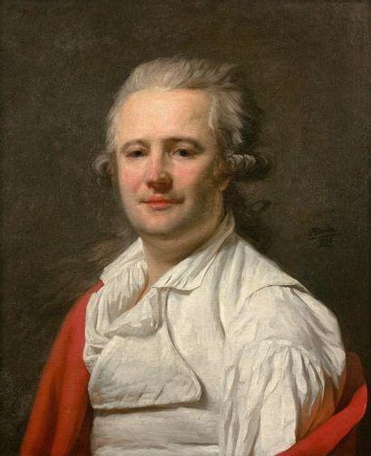 Pierre Henri DANLOUX (1753-1809)  Portrait...