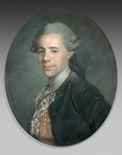 École française vers 1770  Portrait de Jean...