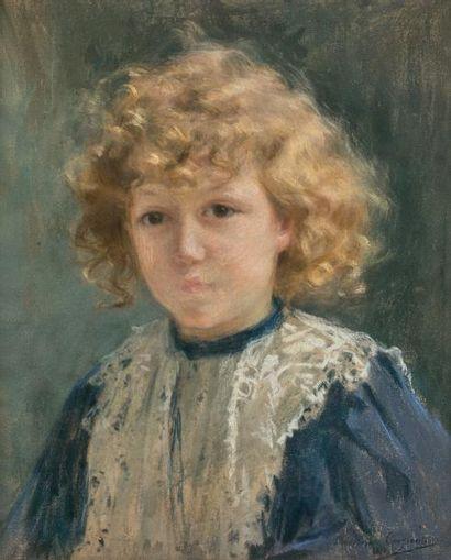 Madeleine CARPENTIER (1865-1949)  Portrait...