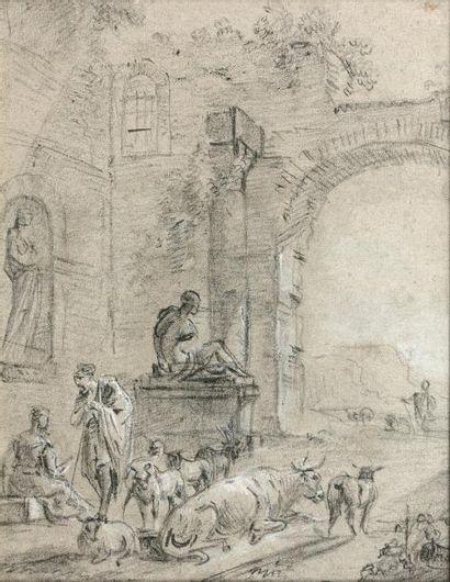 Jean-Baptiste LALLEMAND (Dijon, 1716 - Paris,...