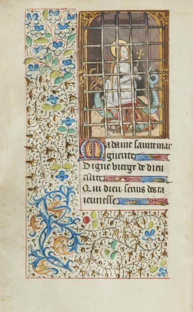 HEURES À L'USAGE DE PARIS, c. 1487 – Manuscrit...