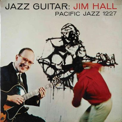 HALL Jim. Lot de 8 vinyles dont le E.O. CTI...
