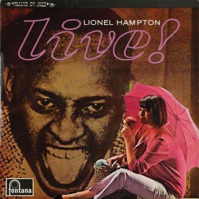 HAMPTON Lionel. Lot de 24 vinyles dont le E.O. Lionel Hampton à l'olympia, Versailles....