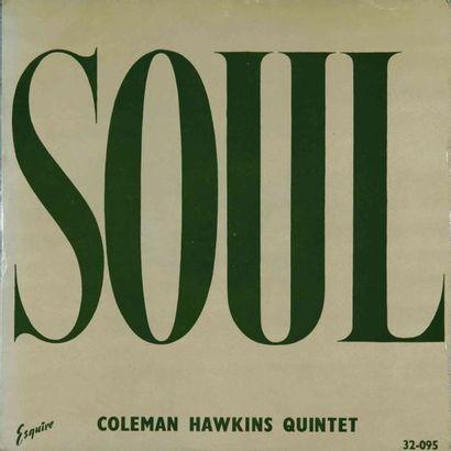 HAWKINS Coleman. Lot de 27 vinyles dont le...