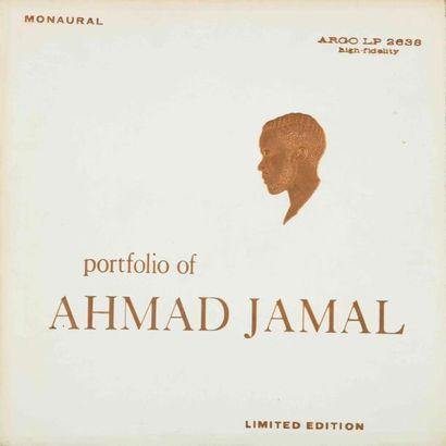 JAMAL Ahmad. Lot de 2 vinyles : Portfolio...