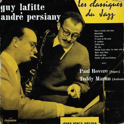 JAZZ Français. Lot de 97 vinyles dont le...