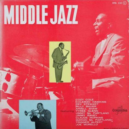 JAZZ PIANO MIDDLE JAZZ. Lot de 67 vinyles...