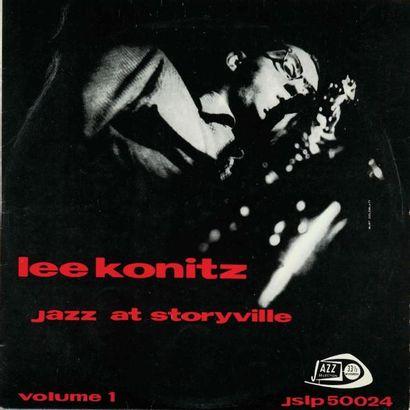 KONITZ Lee. Lot de 19 vinyles dont le E.O....