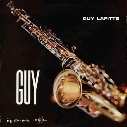 LAFITTE Guy. Lot de 4 vinyles : Guy Lafitte...