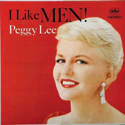 LEE Peggy. Lot de 21 vinyles dont le Decca...