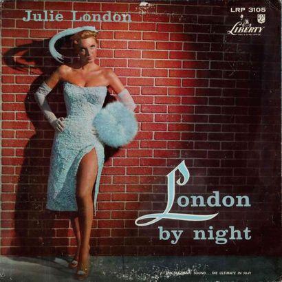 LONDON Julie. Lot de 19 vinyles dont le Liberty...