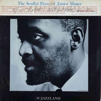 MANCE Junior. Lot de 10 vinyles dont le E.O. Verve LGV 8079. E.O. et rééditions....