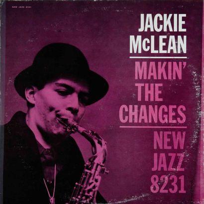 Mc LEAN Jackie. Lot de 6 vinyles. rééditions et éditions rares anciennes. 33T 30...