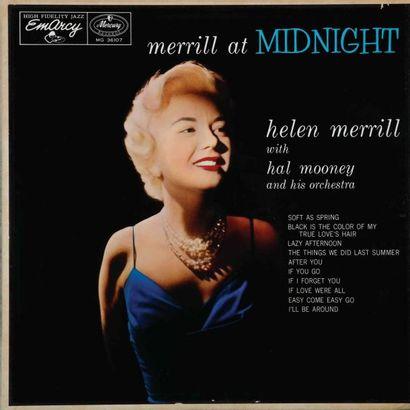 MERRILL Helen. Lot de 15 vinyles dont le...