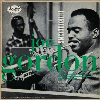 25 CM ORIGINAUX US JAZZ. Lot de 10 vinyles dont le Joe Gordon Introducing Emarcy...