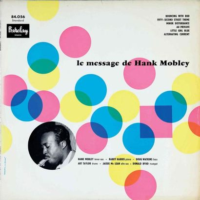 MOBLEY Hank. Lot de 10 vinyles dont le E.O....