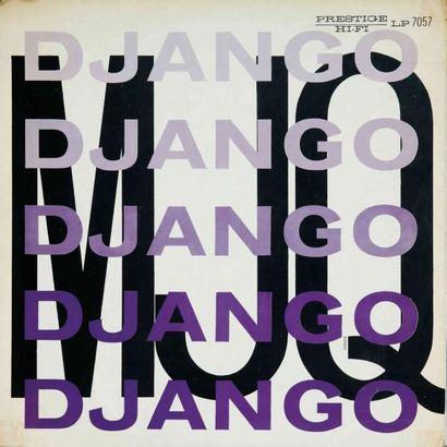 MODERN JAZZ QUARTET. Lot de 18 vinyles dont le E.O. Prestige PRLP 260. E.O. et rééditions....