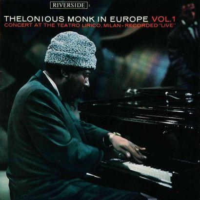 MONK Thelonius. Lot de 3 vinyles : In Europe...