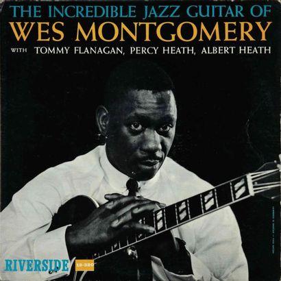 MONTGOMERY Wes. Lot de 14 vinyles dont le...