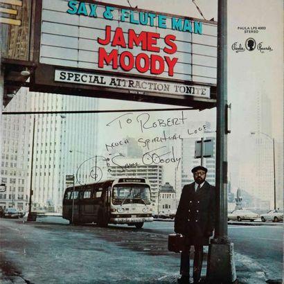 MOODHY James. Lot de 9 vinyles dont le E.O....