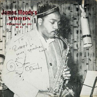 MOODHY James. Lot de 2 vinyles : Moods, Wail...