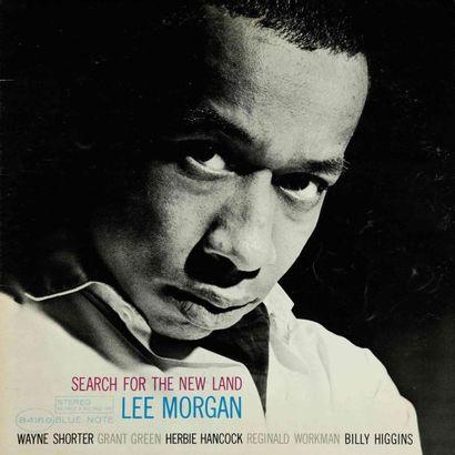 MORGAN Lee. Lot de 12 vinyles dont le E.O....