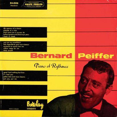 PEIFFER Bernard. Lot de 5 vinyles : The astounding...