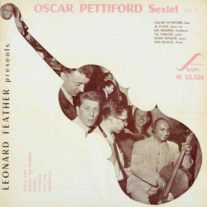 PETTIFORD Oscar. Lot de 3 vinyles : Oscar...