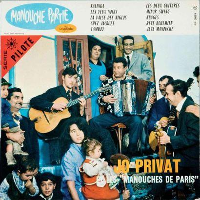 PRIVAT JO et les manouches de Paris. Manouche...