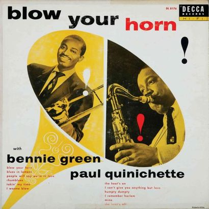 QUINICHETTE Paul. Lot de 10 vinyles dont...