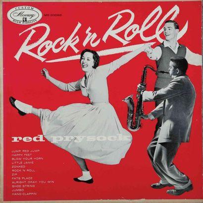 ROCK'N ROLL JAZZ/ SAXOPHONE. Lot de 27 vinyles...