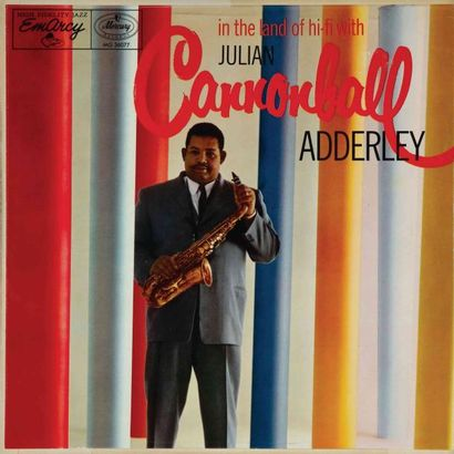 ADDERLEY Cannonball. Lot de 19 vinyles dont E.O. Riverside 12297. E.O. et rééditions....