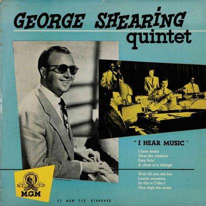 SHEARING George. Lot de 25 vinyles dont le...