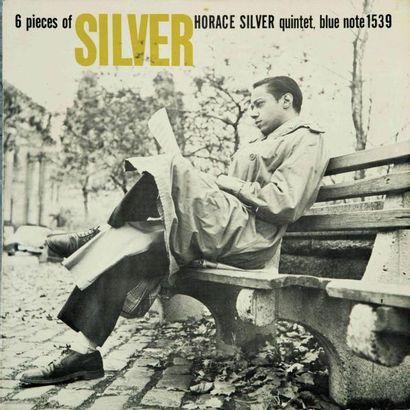 SILVER Horace. Lot de 3 vinyles : 6 pieces...
