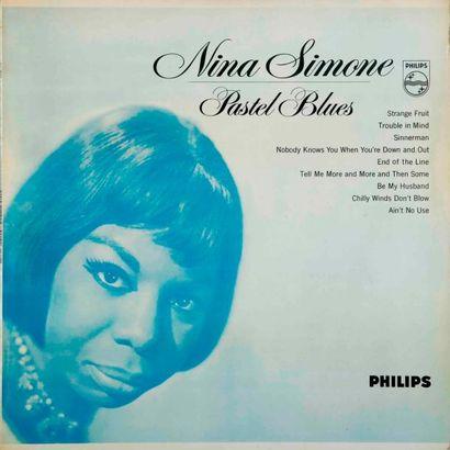 SIMONE Nina. Lot de 18 vinyles dont le Colpix...