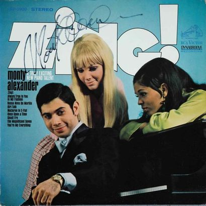 ALEXANDER Monty. Lot de 13 vinyles dont de E.O. MGM 4736. E.O. et rééditions. 33T...
