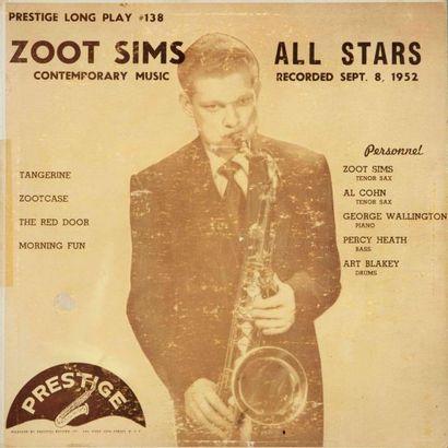 SIMS Zoot. Lot de 4 vinyles : In Hollywood,...