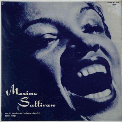 SULLIVAN Maxime. Lot de 12 vinyles dont le...