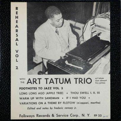 TATUM Art. Lot de 16 vinyles dont le Clef...