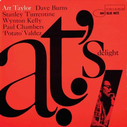 TAYLOR Art. A.T. Delight. Blue Note 4047...