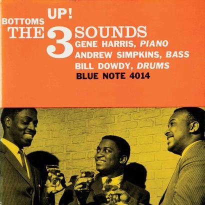 THE THREE SOUNDS. Lot de 4 vinyles : Black...