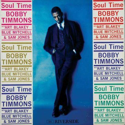 TIMMONS Bobby. Lot de 7 vinyles dont le Riverside...