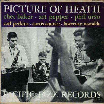 BAKER Chet. Lot de 33 vinyles environ dont E.O. Pacific Jazz 18. E.O. et rééditions....