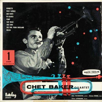 BAKER Chet. Chett Baker Quartet. Barclay...