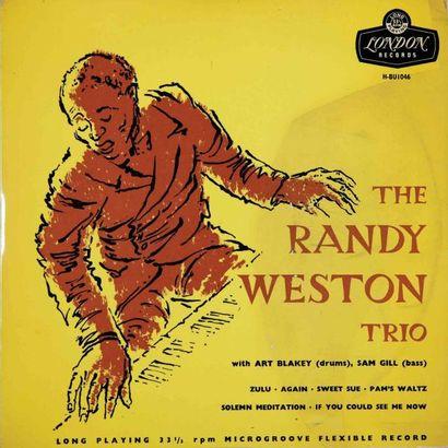 WESTON Randy. Lot de 13 vinyles dont le Dawn...