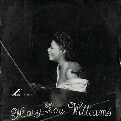 WILLIAMS Mary Lou. Lot de 9 vinyles dont...