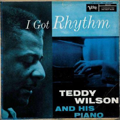 WILSON Teddy. Lot de 17 vinyles dont le Columbia...