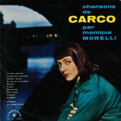 CHANSONS FRANCAISES. Lot de 31 vinyles environ....